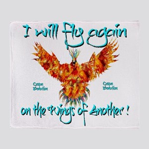 PhoenixOrganDonar Throw Blanket